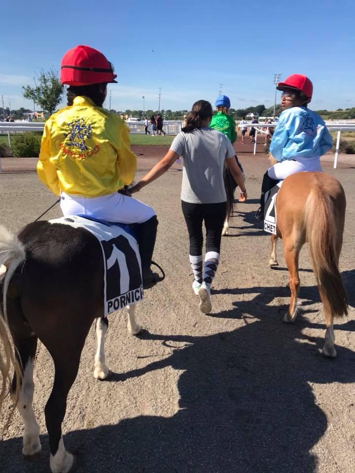 course poney